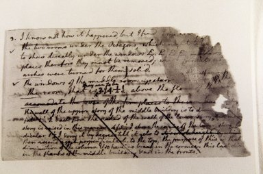 "Jefferson's memo, ""I know not how it happened"""
