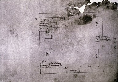 Monticello, Dining Room, plan