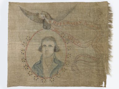 Banner from Jefferson's Presidential victory