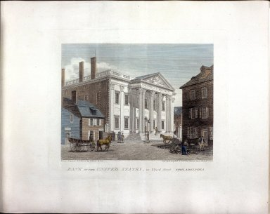 Bank of the United States, in Third Street, Philadelphia