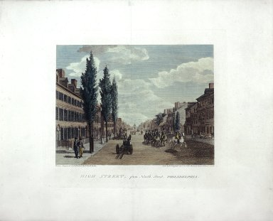 High Street, from North Street, Philadelphia