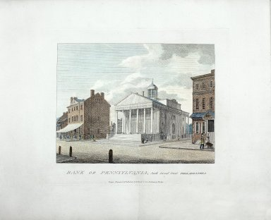 Bank of Pennsylvania, South Second Street, Philadelphia
