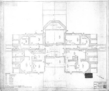 Monticello Record Drawings, Floor 100