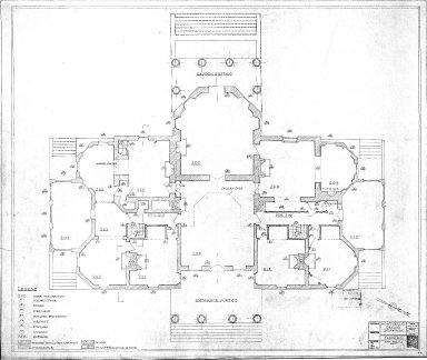 Monticello Record Drawings, Floor 200