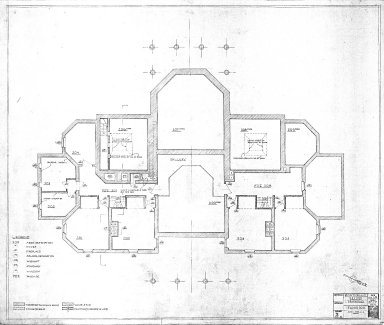 Monticello Record Drawings, Floor 300