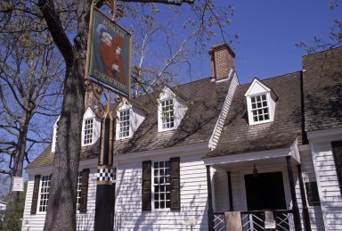 Chowning's Tavern, Colonial Williamsburg, exterior