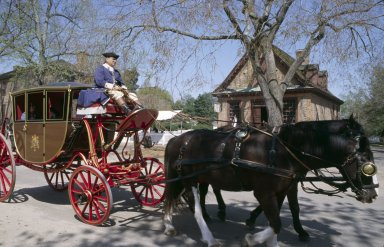 Colonial Williamsburg, carriage