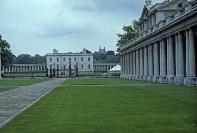 Queen's House, from Royal Naval Hospital, Greenwich