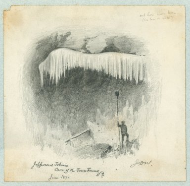 Jefferson's Tobacco Cave of the Town Farms, June 1871