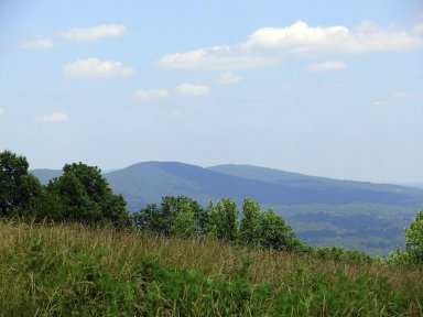 South West Mountains, past Pantops