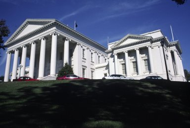 Virginia State Capitol, East