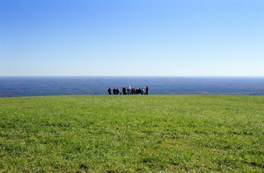 Montalto, View East, with Visitors