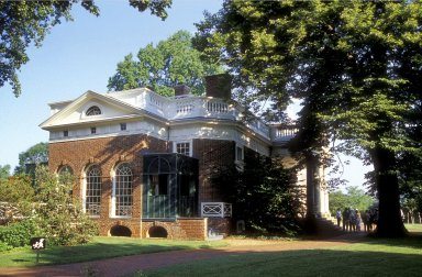 Monticello, Southeast Front