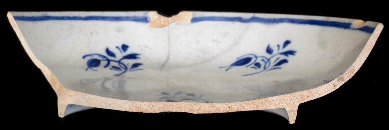 Pearl ware bowl, MSC2113