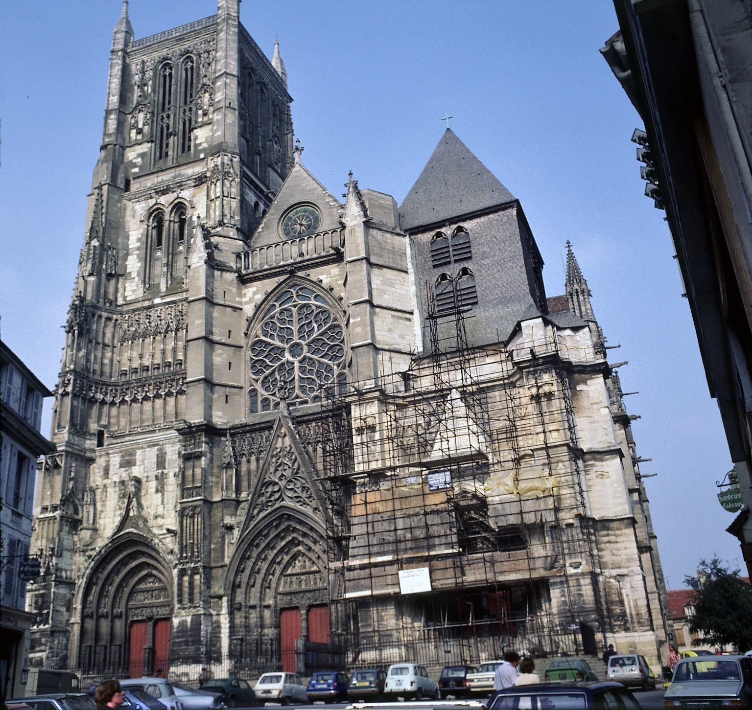 Meaux Cathedral, West Façade