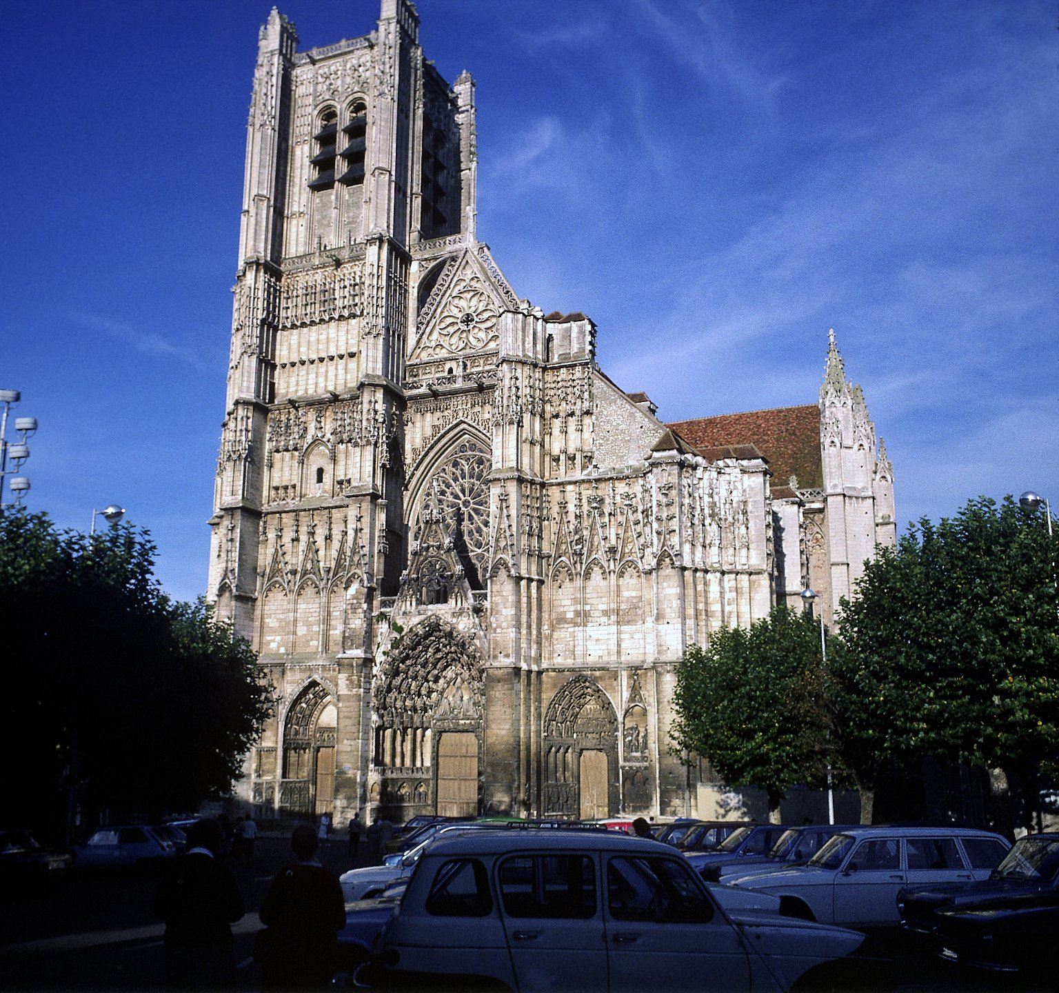 St. Etienne Cathedral, Auxerre