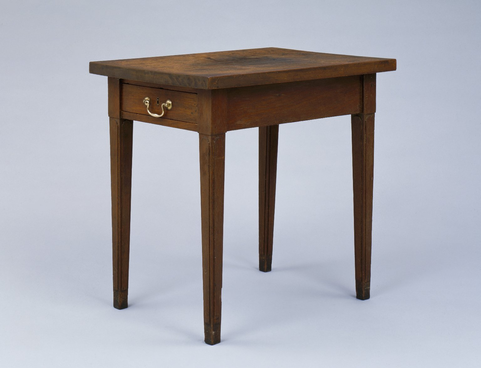 Side table with single drawer