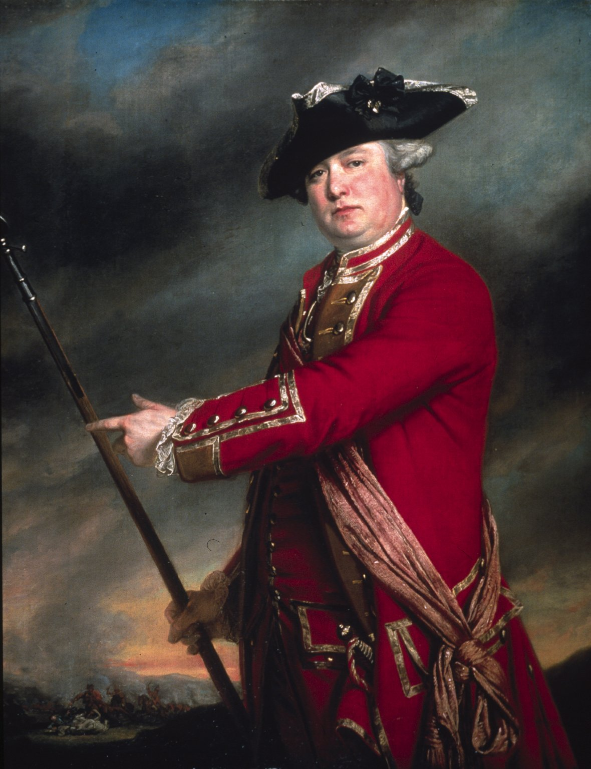 Lieutenant Colonel Francis Smith, 10th Regiment of Foot