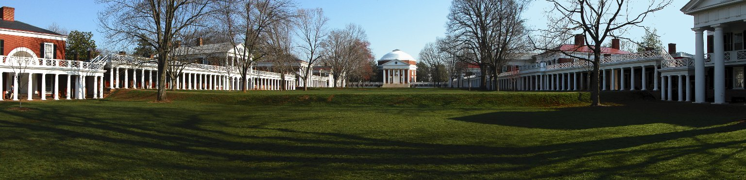 Academical Village, University of Virginia