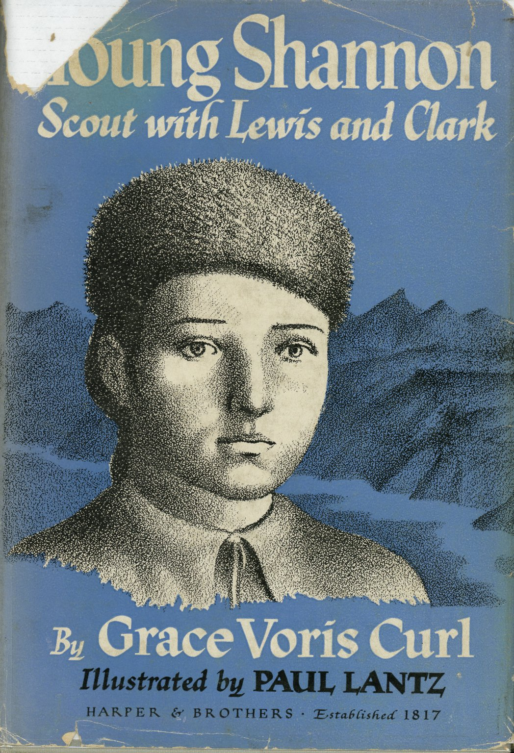 Young Shannon, Scout with Lewis and Clark, cover